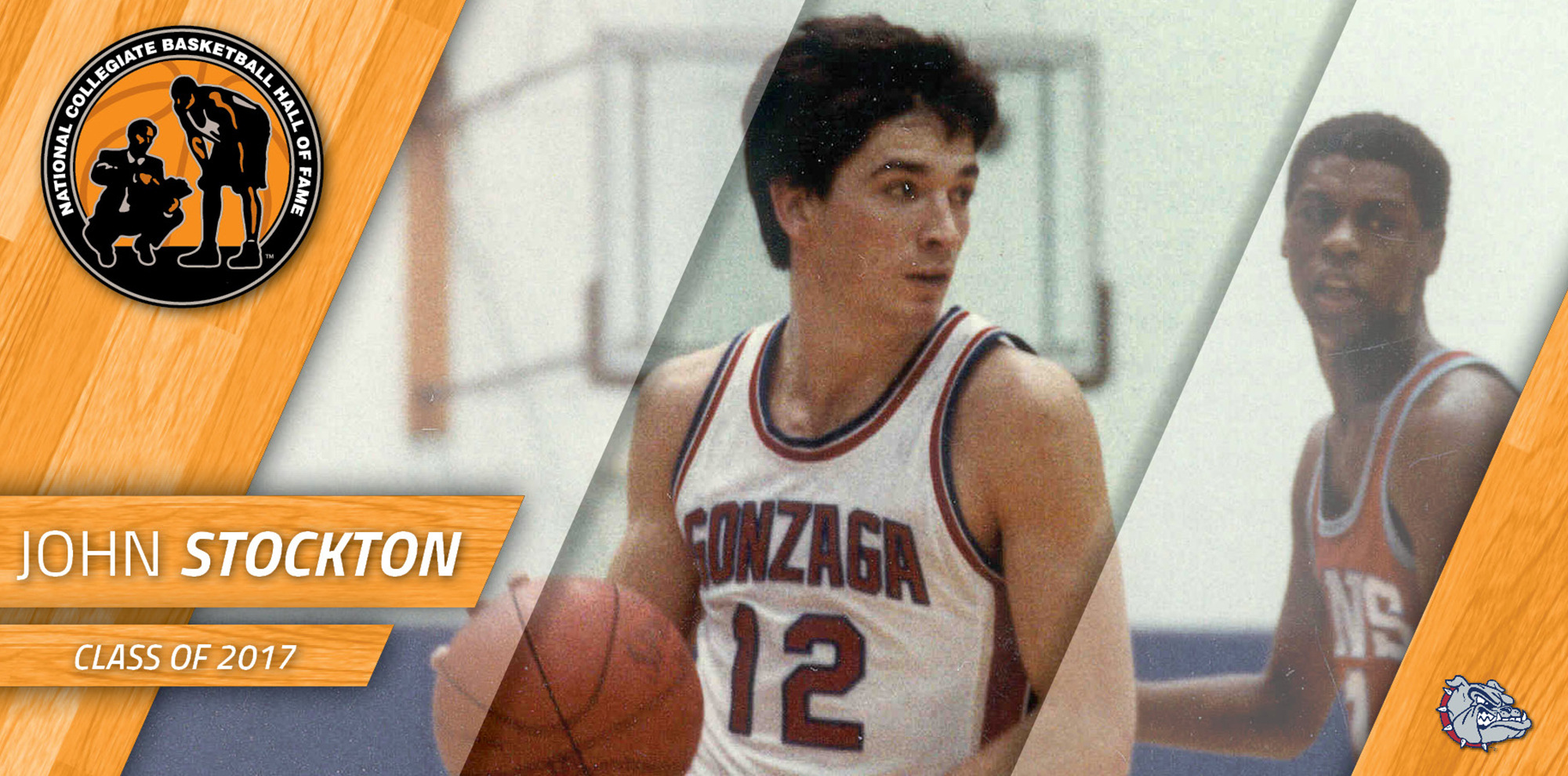 4c96cf01374 Stockton Selected to National Collegiate Basketball Hall of Fame ...
